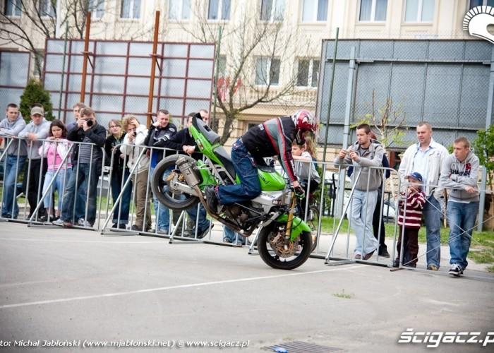 stoppie Extremeday Rzeszow 2009