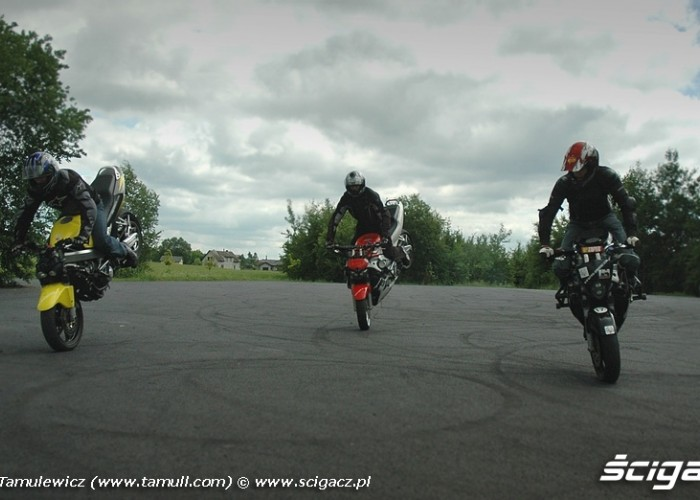 frantic riders squad zamosc stoppie