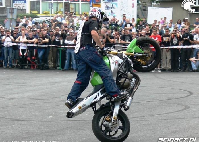 Kamil FRS pokazy FRS Zamosc i Szrot Team na zlocie w Lesku