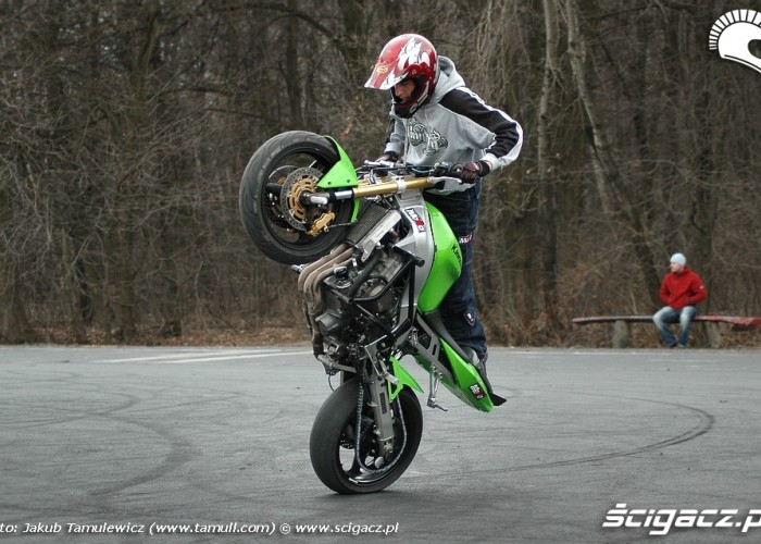 zx6 stunt