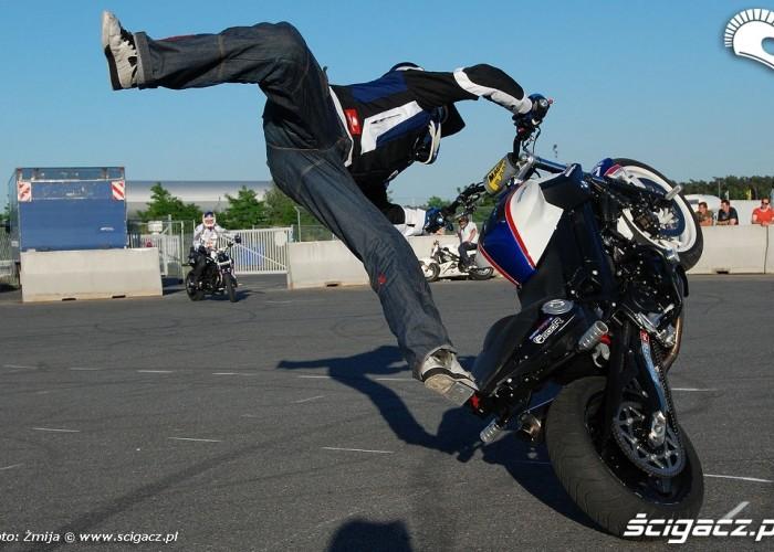 Hubert Dylon Raptowny stunt trening