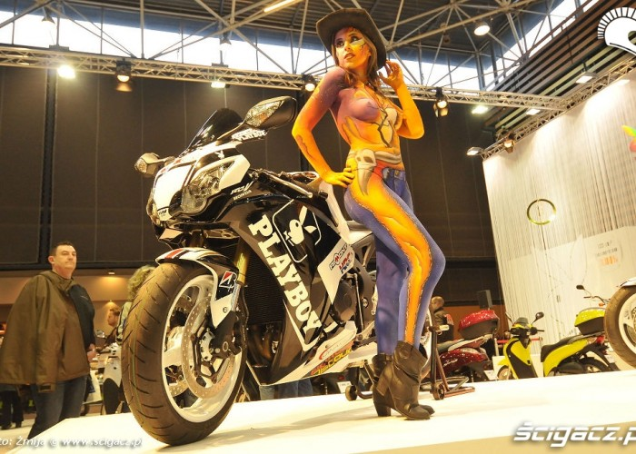 Laska motocykl Playboy Honda RCV