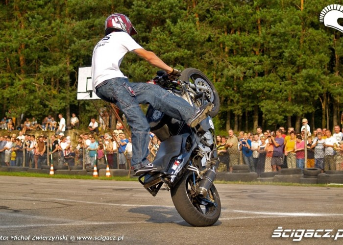 circle wheelie lesniowice