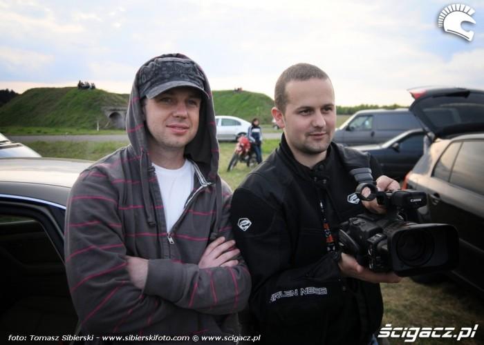 Broczyno stunt 2010 Fiodor i Daniel M3m