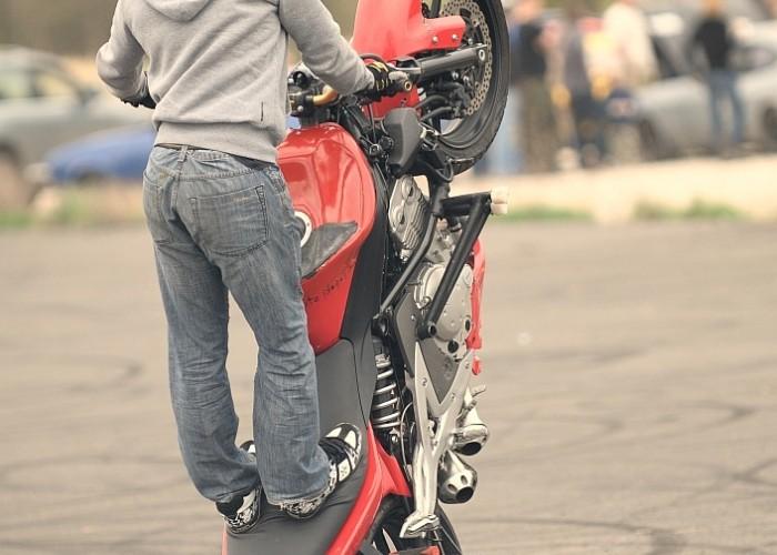 Broczyno stunt 2010 Fragment wolna guma
