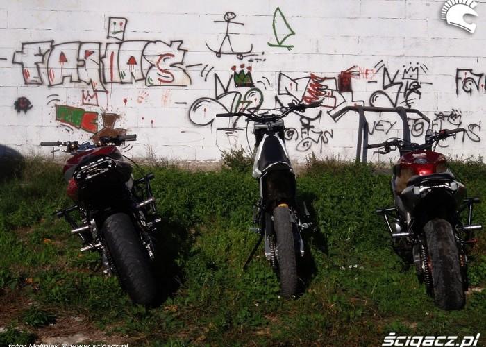 Motocykle u AC Fariasa