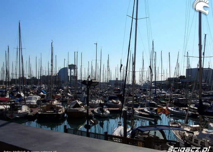 Port w Hiszpanii