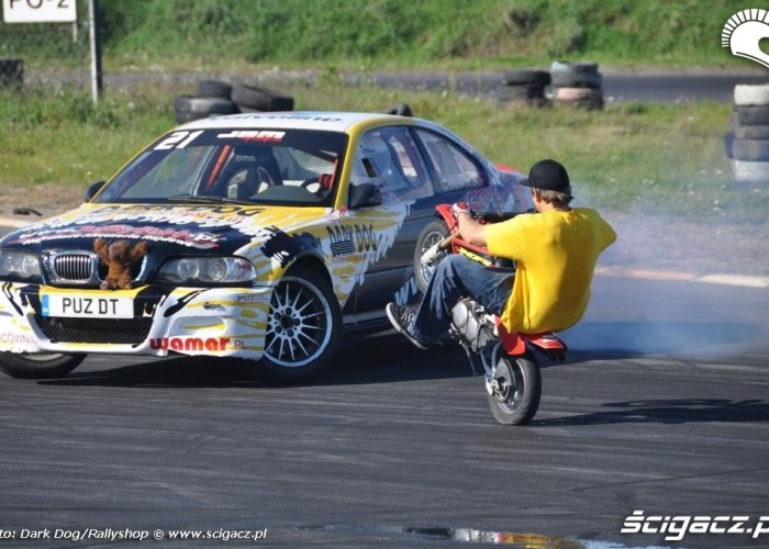 wheelie i drift