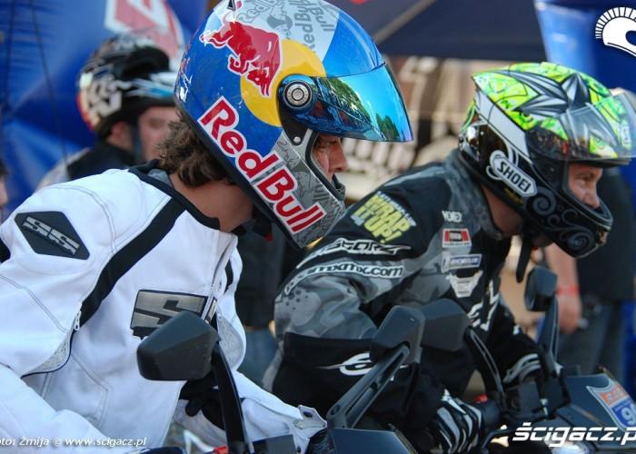 Colton vs Jackson scooter race