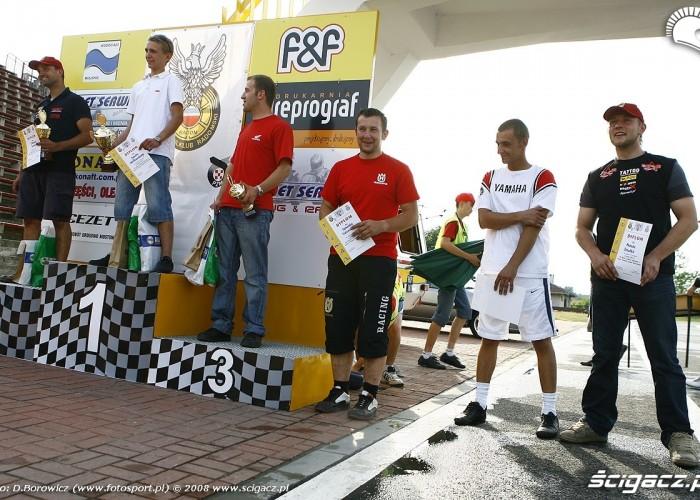 podium radom supermoto motocykle lipiec 2008 c mg 0575