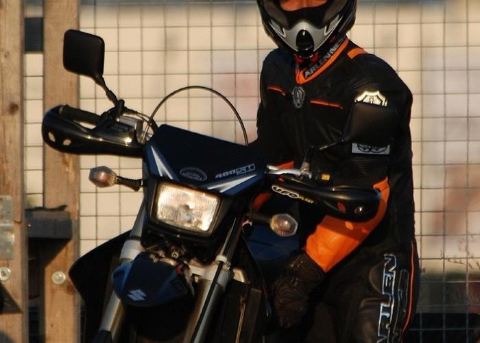 DRZ rider