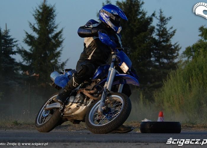 SM trening Yamaha XT600