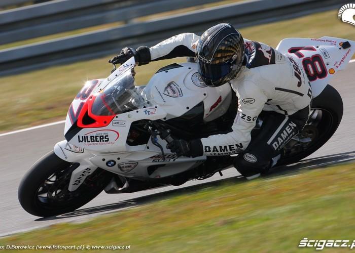 gareth jones superbike superstock 1000 wyscig wmmp vi runda