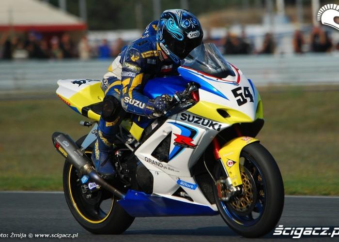 Grandys Mariusz wyscig Superbike