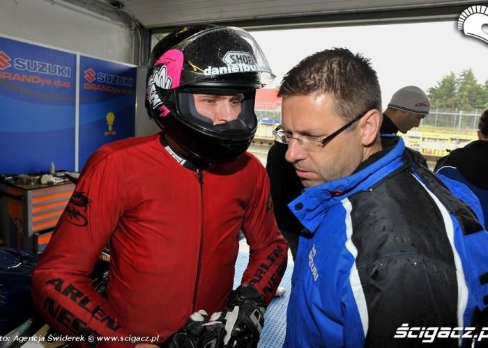 Bula i Jacek Grandys