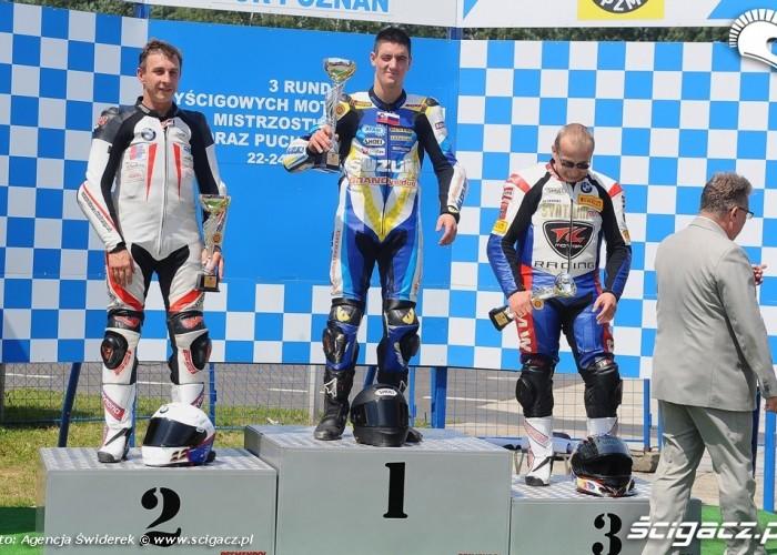 Motocyklowe Mistrzostwa Polski 2012 Podium
