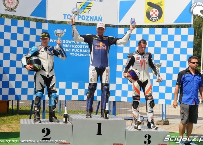 Motocyklowe Mistrzostwa Polski 2012 Poznan Podium