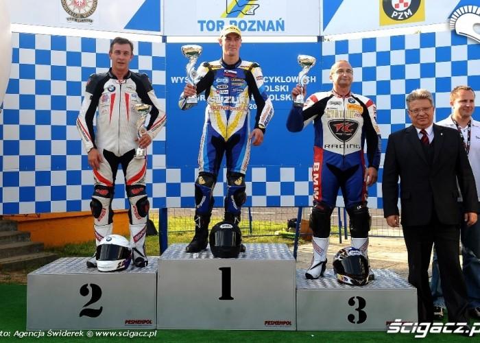 Podium Motocyklowe Mistrzostwa Polski 2012 Poznan