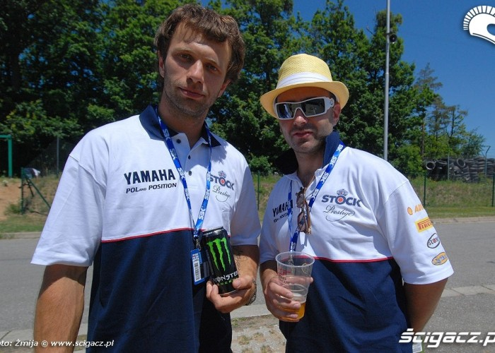 Adam Badziak Michal Pernach World Superbike Brno