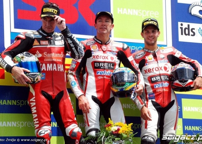 World Superbike Brno round Corser Bayliss Fabrizio