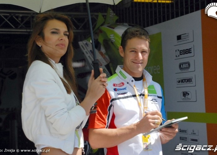World Superbike Brno round Hanns Spree