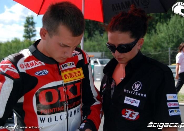 World Superbike Brno round Marek Szkopek Ola Sobotka