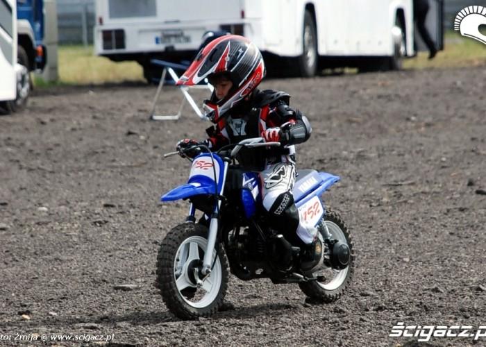 World Superbike Brno round offroad dziecko