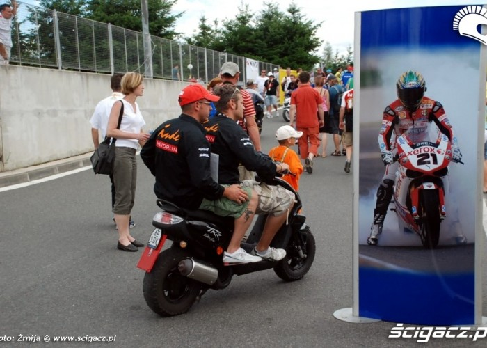 World Superbike Brno round paddock