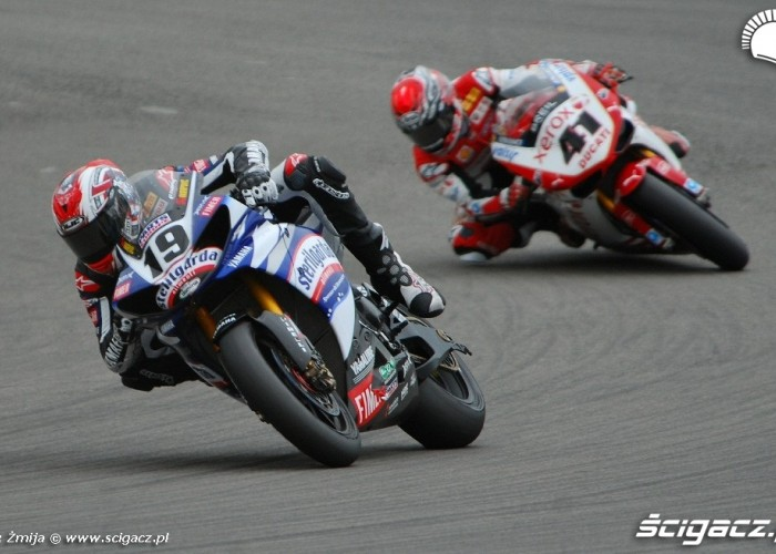 Ben Spies vs Noriyuki Haga Nurburgring race