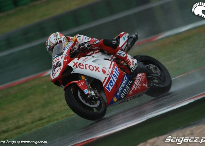 Michel Fabrizio photo wet race Misano