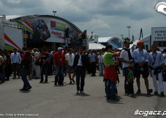 Misano paddock 2009