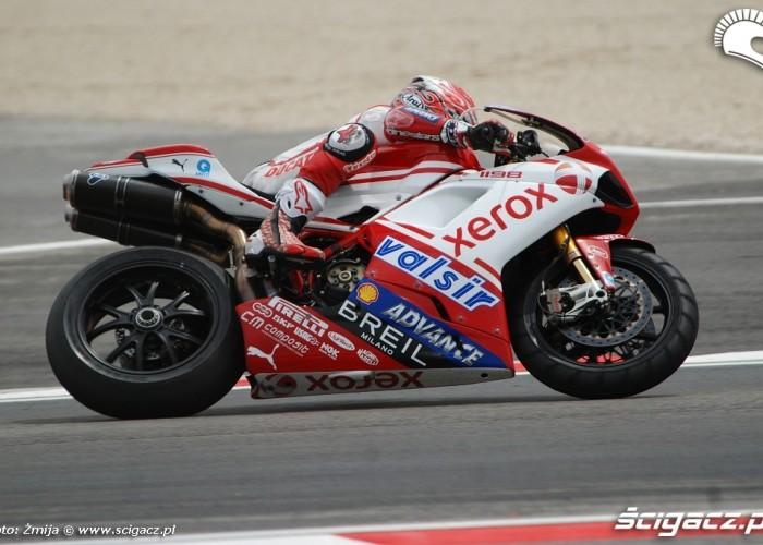 Noriyuki Haga Ducati 1098R Misano