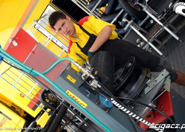 zmiana opon Pirelli