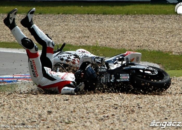 Berger Maxime wypadek Brno