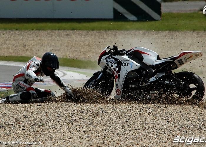 Brno crash Berger