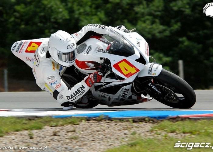Gino Rea Ten Kate Honda Racing Brno race