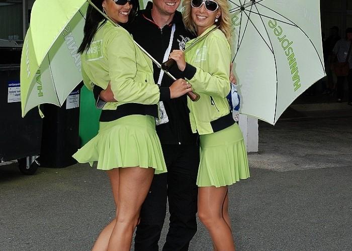 Hanspree girls paddock Brno