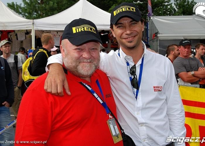 Maciej Lozinski Mattia Pizzi Pirelli Tyre