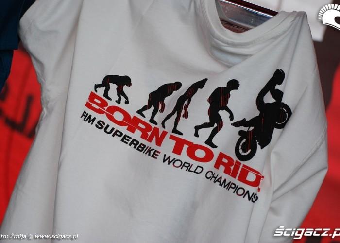 Born to ride koszulka