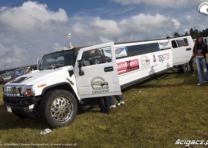 limuzyna hummer auto zlotu borsk gecko cup 14 mili a mg 0214