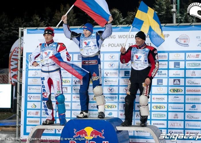 1 - Krasnikow 2 - Iwanow 3 - Svensson