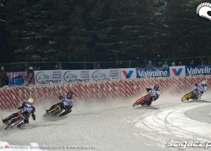 mirek daniszewski czwarty - ice racing sanok