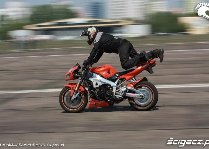 Wyscigi 1 4 mili Lotnisko Bemowo Gecko Cup stunt
