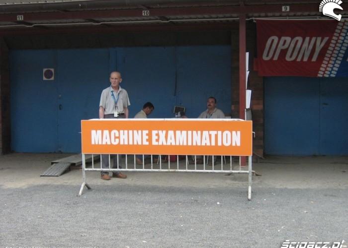 machine examination