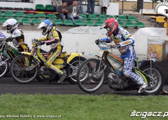 B 13 start Celmer Jeleniewski Nowaczyk Mikolajczak
