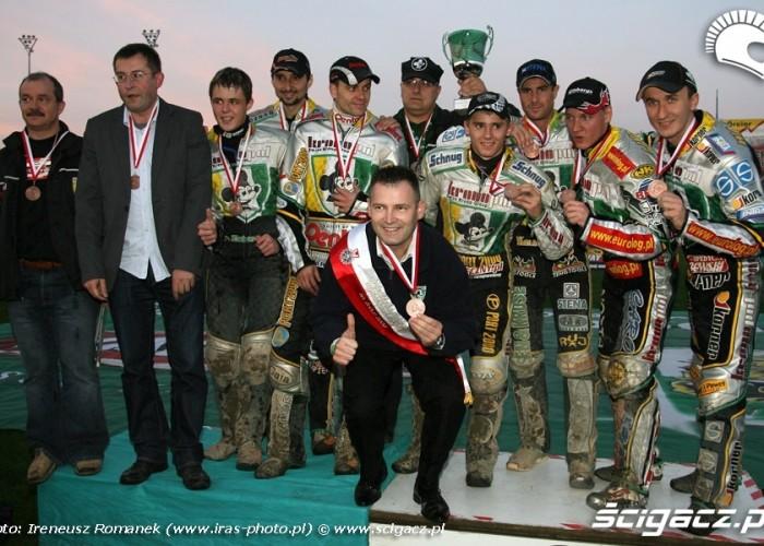 52 brazowy medal dla kronopolu podium