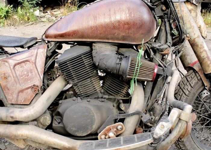 Honda Shadow Rat Bike 19