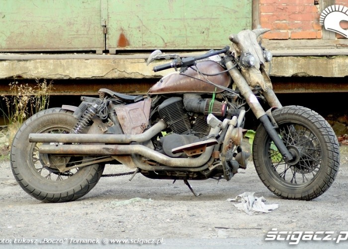 Honda Shadow Rat Bike 46