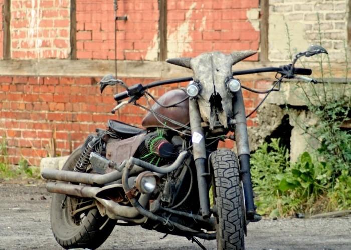 Honda Shadow Rat Bike 5