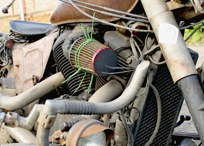 Honda Shadow Rat Bike 7